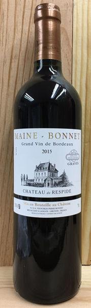 圖片 Chateau de Respide Maine Bonnet Grave 2015赫斯彼古堡紅葡萄酒 2015